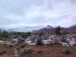Winter in the high desert