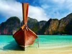 Boat on Thailand Beach