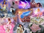 COLLAGE BY ME  BEAUIFUL DREAM