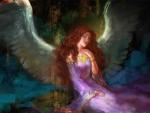 Araquiel - In A Purple Dress