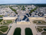 Panoramic view of the Palace of Versailles