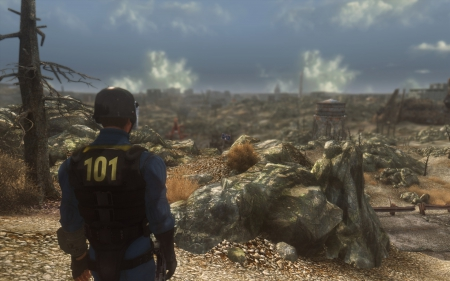Fallout 3 - Into the Wasteland (Escape!) - Lone, Lone wanderer, fallout 3, escape, into the wasteland, vault 101
