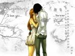 UlquiHime Love-Kiss Calendar Pic