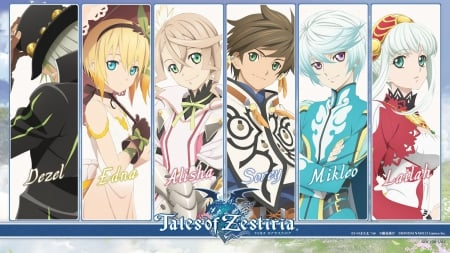 Tales Of Zestiria Other Anime Background Wallpapers On