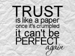 Trust is Essential