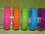 Rainbow bangles