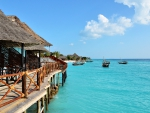 Bungalows in the Zanzibar Islands