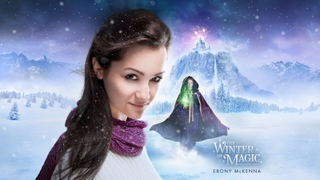 The Winter of Magic - Ondine 3 - movie, ondine, witches, young adult, book, fantasy, season, romance, novel, weather, adventure, winter, teenager, blizzard, girl, series, paranormal, snow, ebony mckenna, teen, magical, author, castle, the winter of magic