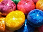 Colorful Easter Eggs f