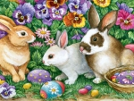 Easter Bunny Treasures F
