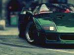 green ferrari f40