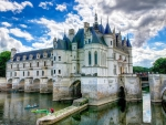 Castle Chenonceau in France