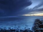 Wild seascape