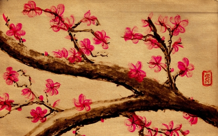 Japanese Art Other Abstract Background Wallpapers On
