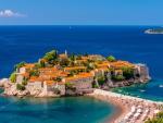 Small Island Village in Montenegro