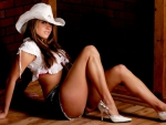 Dressed Up Cowgirl