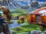 Eagle Huntress Campsite