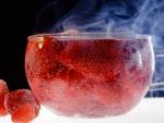 STRAWBERRIES CUP OF TEA