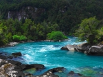 The Turquoise Waters Of Futaleufu River