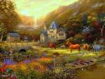 Golden Valley in Spring
