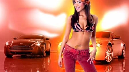 Super Exotic - auto, model, sexy, car