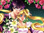 Mamoru and Tsukino Usagi
