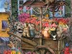 """""""The Flower Cart"""""""