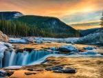 Sunrise - river