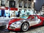 Bugatti Under the Lights
