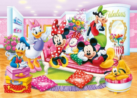 Fabulous - freinds, mause, child, cartoon, minnie