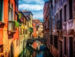 Houses along Venice Canal