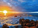 Sunset - rays