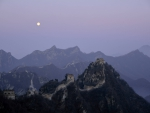 The Great Wall by Moonlight