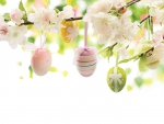 Easter Eggs and Blossoms
