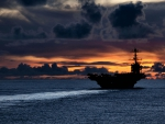 Carrier at Sunset F2