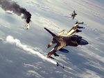 F 16s In Action