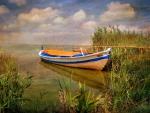 Canoe at Dusk