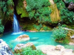 Turquoise Waterfall