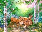 Deer of Spring