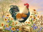 Spring Rooster