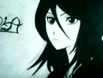 rukia bleach wallpaper