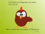 Bluebird of Happiness Quote