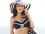 Kelly Brook in New Look Swimwear