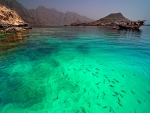 Clear Transparent sea water