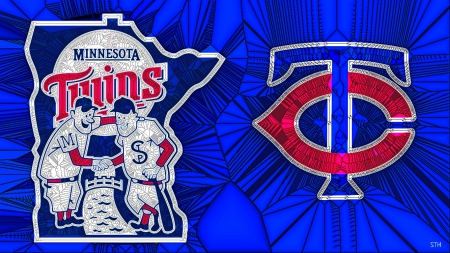 Psychedelic Glass Twins Logos - Minnesota Twins Baseball, Twins Logo, Minnesota Twins wallpaper, Minnesota Twins Logo, Twins, Twins Baseball, Minnesota Twins Desktop background, Twins Desktop background, Minnesota Twins, Twins wallpaper