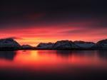 * Beautiful sunset *