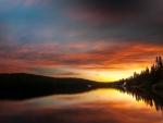 * Amazing sunset *