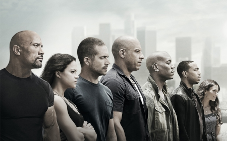 Furious 7 2015 - cars, race, cool, furious, 7, drift, 2015