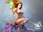 Beautiful Sorceress