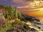 beautyful lighthause